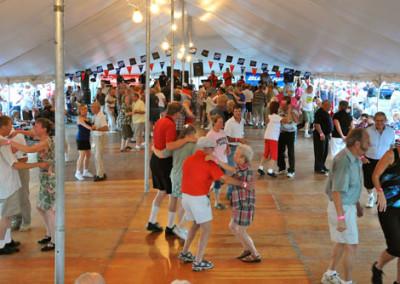 Pulaski Polka Days,dancing to polka music,pulaski,wisconsin