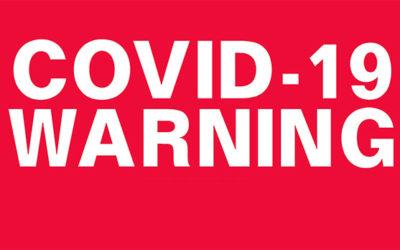 COVID-19 Warning